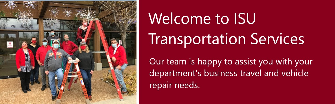 Welcome to Transportation Services